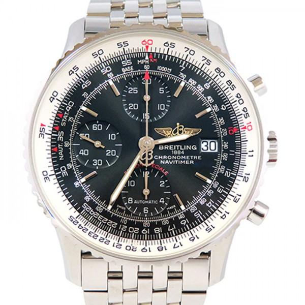 ブライトリング BREITLING ナビタイマー ヘリテージ A113B27NP ブラック文字盤 メンズ 腕時計 【新品】