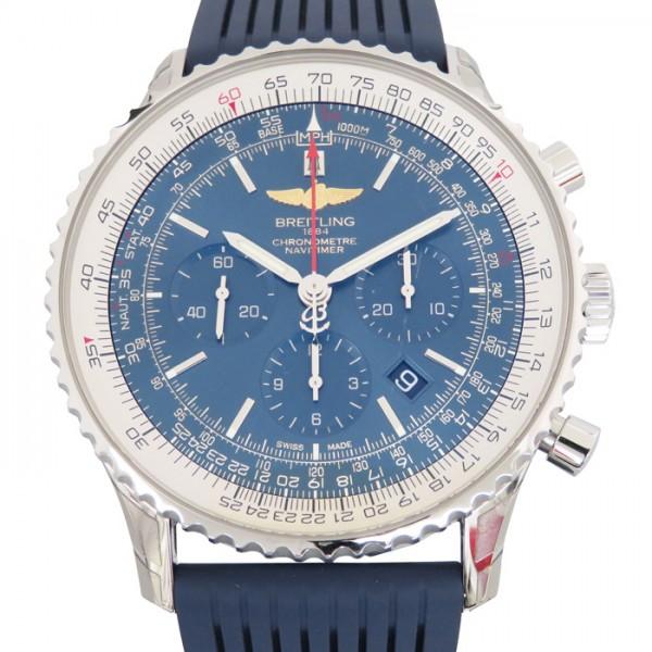 ブライトリング BREITLING ナビタイマー 01  A017C89PRC ブルー文字盤 メンズ 腕時計 【新品】