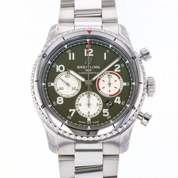 ブライトリング BREITLING その他 アビエーター 8 B01 クロノグラフ 43 カーチス ウォーホーク A008L-1PSS カーキ文字盤 メンズ 腕時計 【新品】