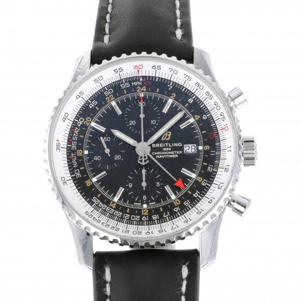 ブライトリング BREITLING ナビタイマー 1 クロノグラフ GMT 46 A242B-2KBA ブラック文字盤 メンズ 腕時計 【新品】