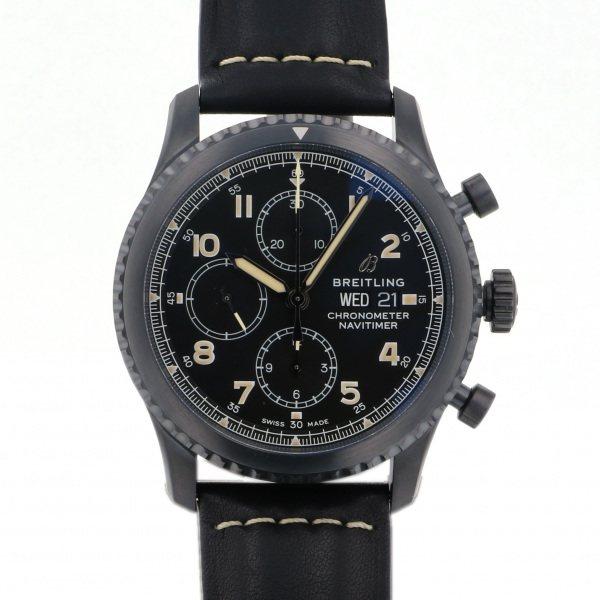 ブライトリング BREITLING ナビタイマー 8 クロノグラフ ブラックスチール M118B-1LMA ブラック文字盤 メンズ 腕時計 【新品】