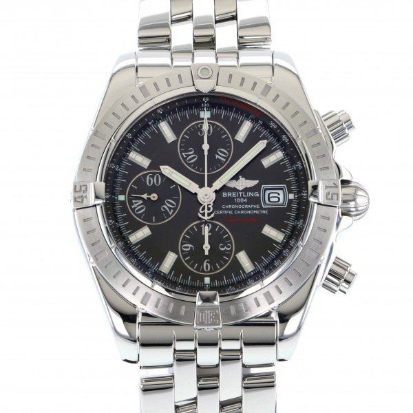 ブライトリング BREITLING クロノマット エボリューション A13356 グレー文字盤 メンズ 腕時計 【中古】