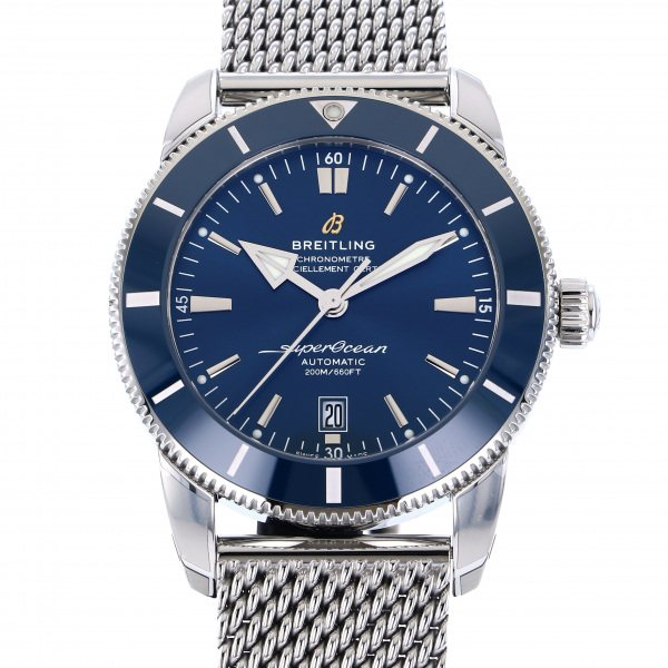 ブライトリング BREITLING スーパーオーシャン ヘリテージ II 46 A202C-OCA ブルー文字盤 メンズ 腕時計 【新品】