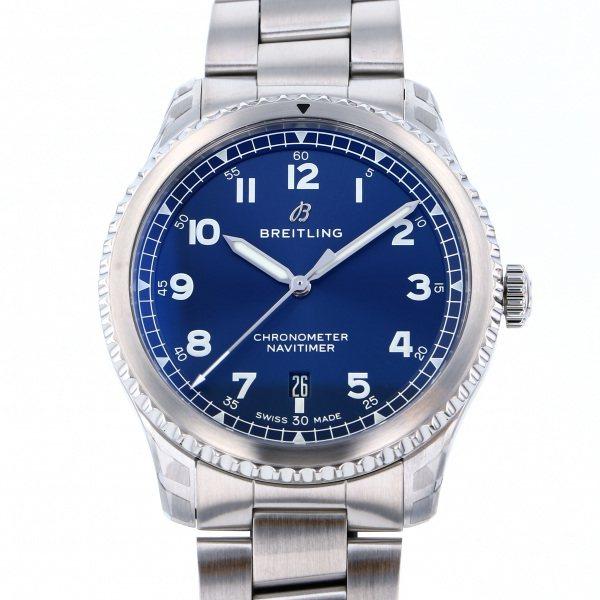 ブライトリング BREITLING ナビタイマー 8 オートマチック41 A168C-1PSS ブルー文字盤 メンズ 腕時計 【新品】