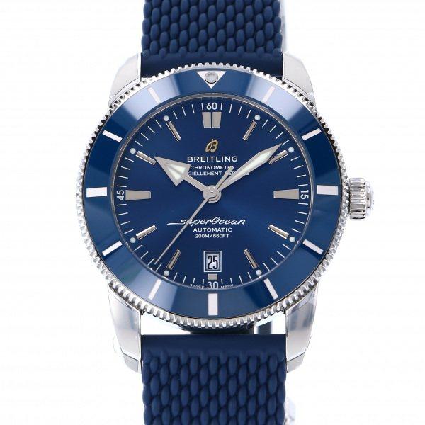 ブライトリング BREITLING スーパーオーシャン ヘリテージ II 46 A202C-1QRC ブルー文字盤 メンズ 腕時計 【新品】
