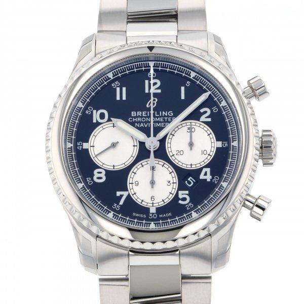 ブライトリング BREITLING ナビタイマー 8 B01 クロノグラフ 43 A008B-1PSS ブラック/シルバー文字盤 メンズ 腕時計 【新品】