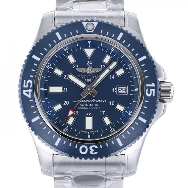 ブライトリング BREITLING スーパーオーシャン 44 スペシャル Y192C10PSS ブルー文字盤 メンズ 腕時計 【新品】