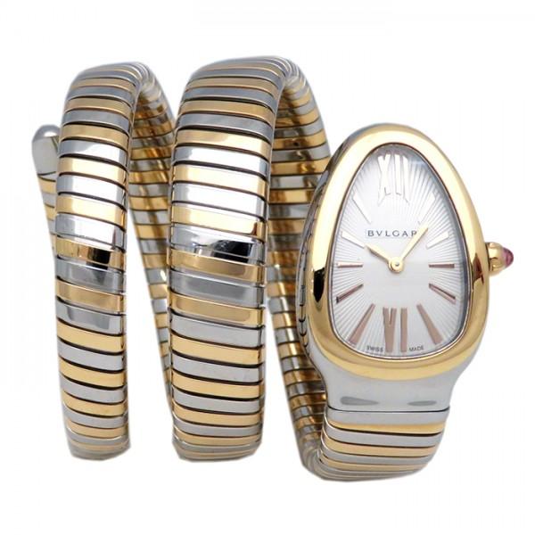ブルガリ BVLGARI セルペンティ SP35C6SPG.2T ホワイト文字盤 新品 腕時計 レディース キャンセル・変更について 景品 ギフトラッピング 割引セール 非売品 開業祝