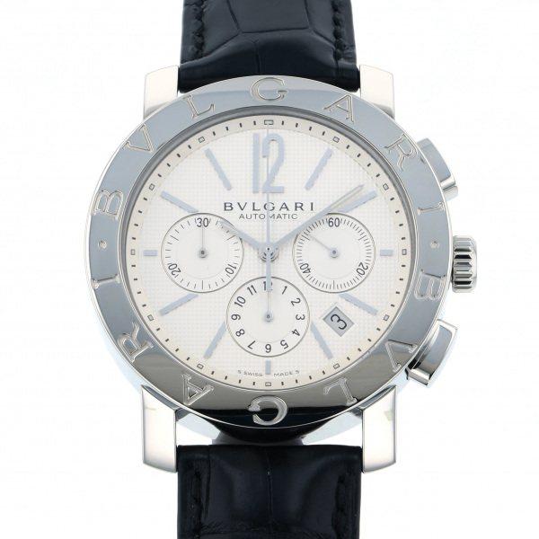 ブルガリ BVLGARI ブルガリブルガリ クロノグラフ BB42WSLDCH シルバー文字盤 メンズ 腕時計 【新品】