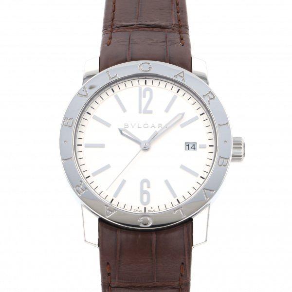 ブルガリ BVLGARI ブルガリブルガリ BB39WSLD シルバー文字盤 メンズ 腕時計 【新品】