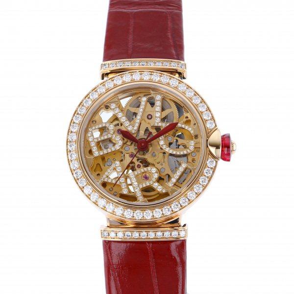 【期間限定ポイント5倍 5/5~5/31】 ブルガリ BVLGARI その他 ルチェア スケルトン LUP33SKGDL ゴールド文字盤 レディース 腕時計 【中古】