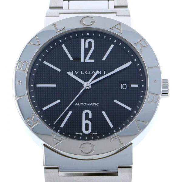 ブルガリ BVLGARI ブルガリブルガリ BB42BSSD ブラック文字盤 メンズ 腕時計 【新品】