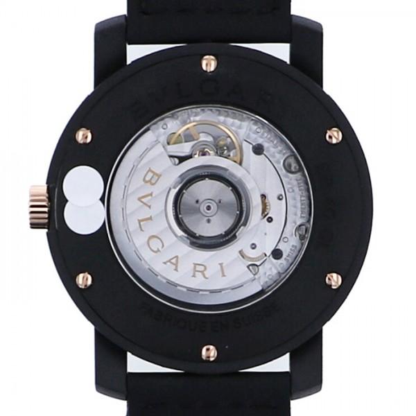 【全品 ポイント10倍 16日1:59まで 要エントリー】ブルガリ BVLGARI ブルガリブルガリ カーボンゴールド  BBP40C3CGLD ブラック文字盤 メンズ 腕時計 【新品】