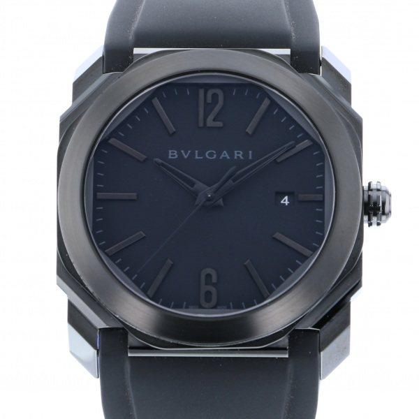 ブルガリ BVLGARI オクト ウルトラネロ BG041BBSVD/N ブラック文字盤 メンズ 腕時計 【新品】
