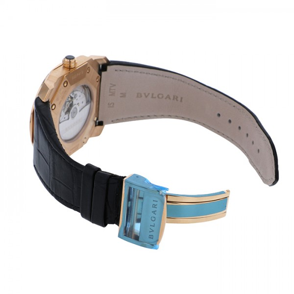 timeless design c5e5c 5afcc ブルガリ BVLGARI オクト BGOP41BGLD ブラック文字盤 メンズ 腕時計 【新品】|株式会社ジェムキャッスルゆきざき