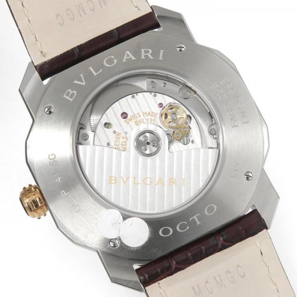 ブルガリ BVLGARI オクト ローマ OC41C6SPGLD シルバー文字盤 メンズ 腕時計 【新品】