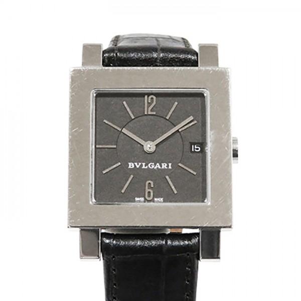 【全品 ポイント10倍 4/9~4/16】ブルガリ BVLGARI その他 クアドラード SQ 27 SLD ブラック文字盤 レディース 腕時計 【中古】