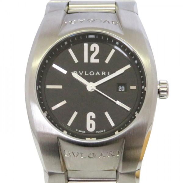 ブルガリ BVLGARI エルゴン EG30S ブラック文字盤 レディース 腕時計 【新古品】