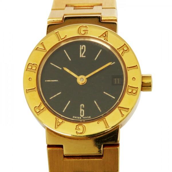 ブルガリ BVLGARI ブルガリブルガリ BB23GGD ブラック文字盤 レディース 腕時計 【新古品】