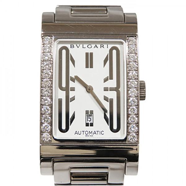 ブルガリ BVLGARI その他 レッタンゴロ RTW45G ホワイト文字盤 メンズ 腕時計 【新品】
