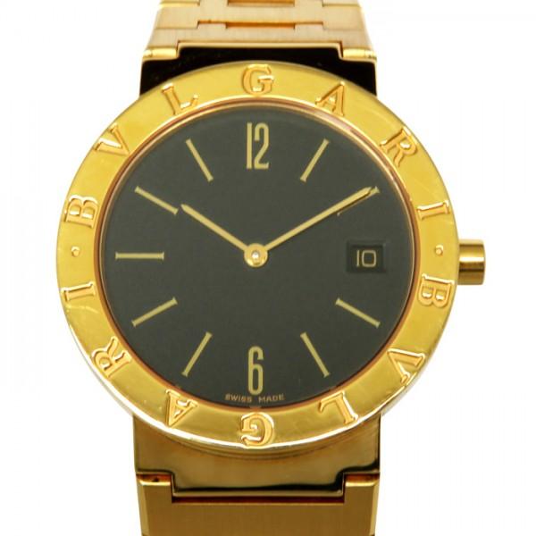 ブルガリ BVLGARI ブルガリブルガリ BB33GGD ブラック文字盤 メンズ 腕時計 【中古】