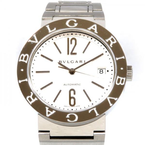 ブルガリ BVLGARI ブルガリブルガリ BB38WSSD シルバー文字盤 メンズ 腕時計 【新品】