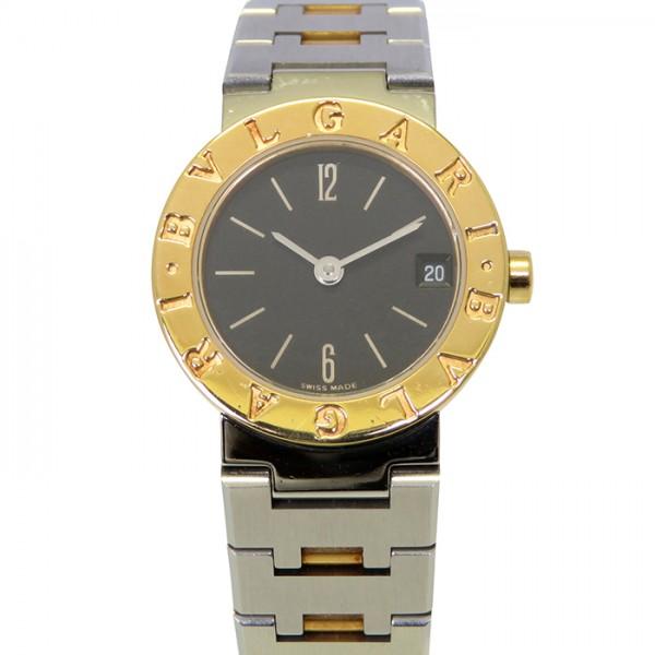 ブルガリ BVLGARI ブルガリブルガリ BB23SG ブラック文字盤 レディース 腕時計 【中古】