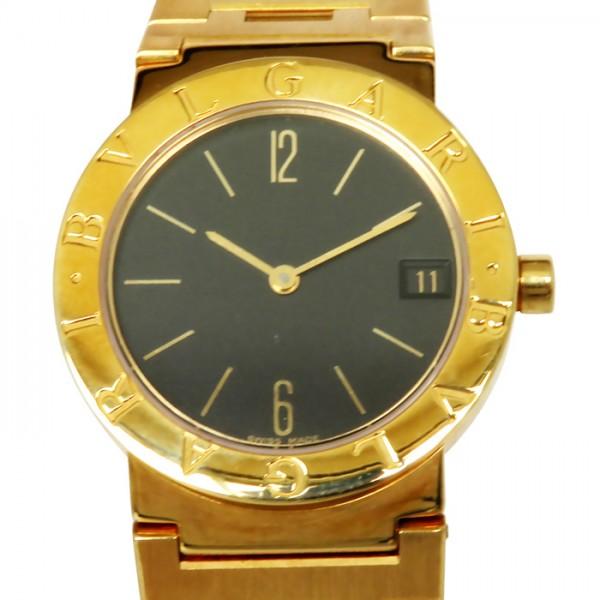 ブルガリ BVLGARI ブルガリブルガリ BB30GGD ブラック文字盤 レディース 腕時計 【中古】