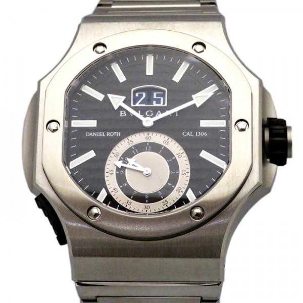 ブルガリ BVLGARI その他 ダニエル・ロート クロノスプリント BRE56BSSDCHS ブラック文字盤 メンズ 腕時計 【新品】