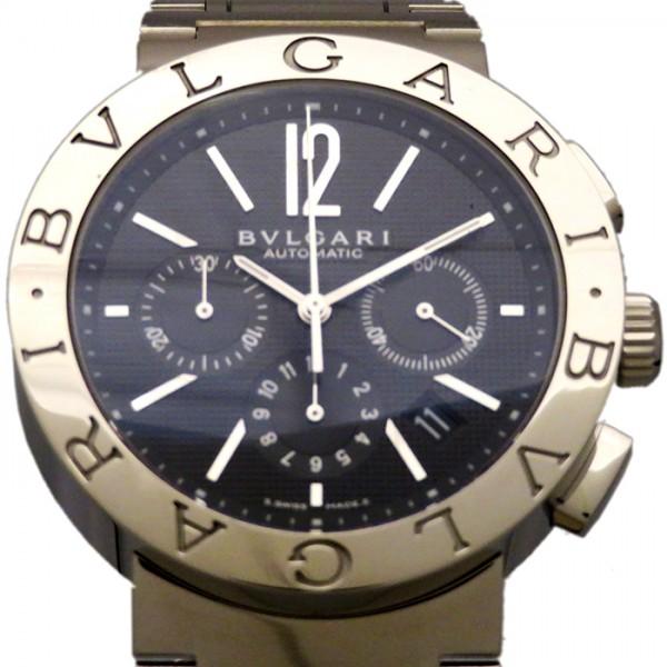 check out 436a8 46fc3 ブルガリ BB41BSLDCH ブルガリブルガリ クロノグラフ 【腕時計 ...