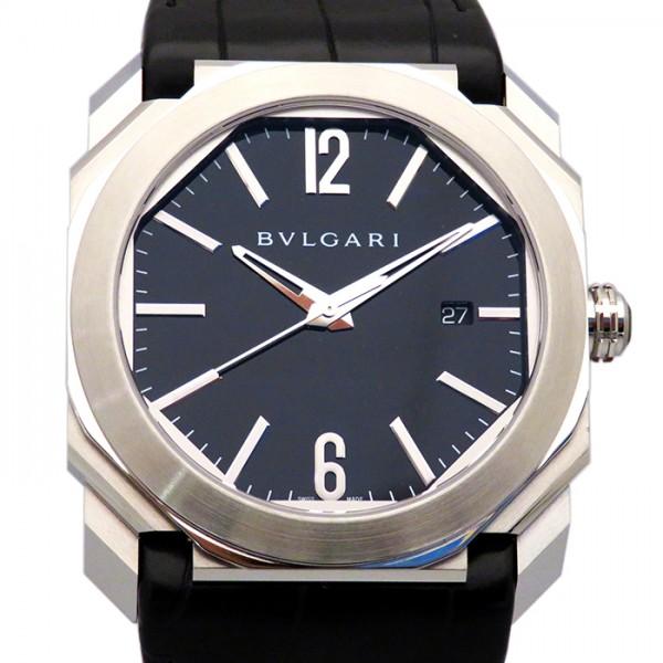 ブルガリ BVLGARI オクト ジェラルドジェンタ オクト BGO41BSLD ブラック文字盤 メンズ 腕時計 【新品】