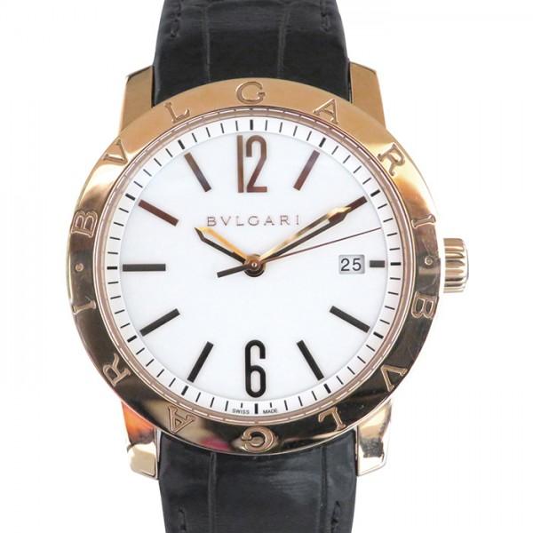 ブルガリ BVLGARI ブルガリブルガリ BBP39WGLD ホワイト文字盤 メンズ 腕時計 【未使用】