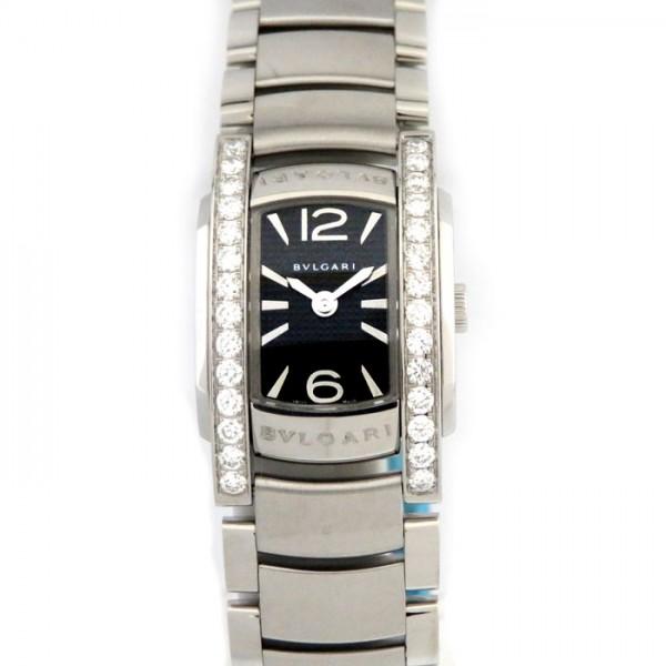 ブルガリ BVLGARI アショーマ D AA26BSDS ブラック文字盤 レディース 腕時計 【新品】