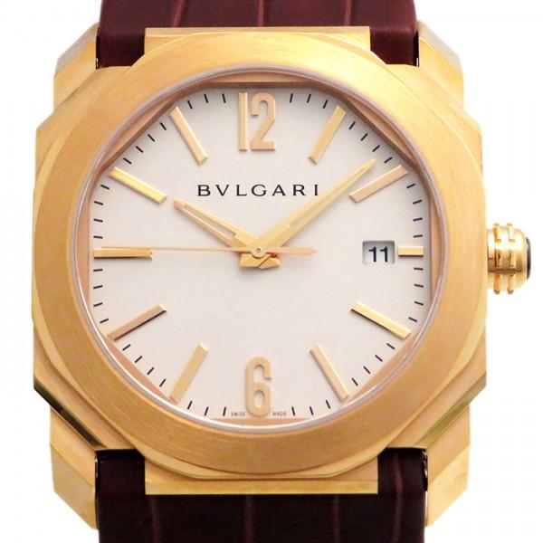ブルガリ BVLGARI オクト ソロテンポ BGOP38WGLD ホワイト文字盤 メンズ 腕時計 【新品】
