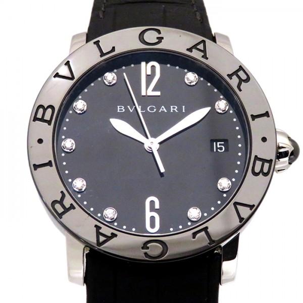 ブルガリ BVLGARI ブルガリブルガリ BBL37BSBCLD/9 ブラック文字盤 メンズ 腕時計 【新品】