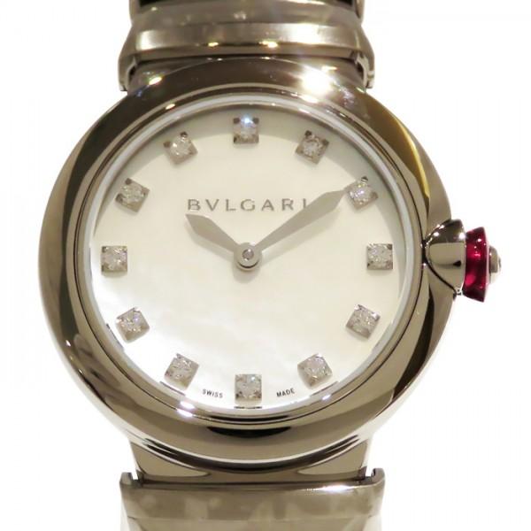 ブルガリ BVLGARI その他 ルチェア LU28WSS/12 ホワイト文字盤 レディース 腕時計 【新品】