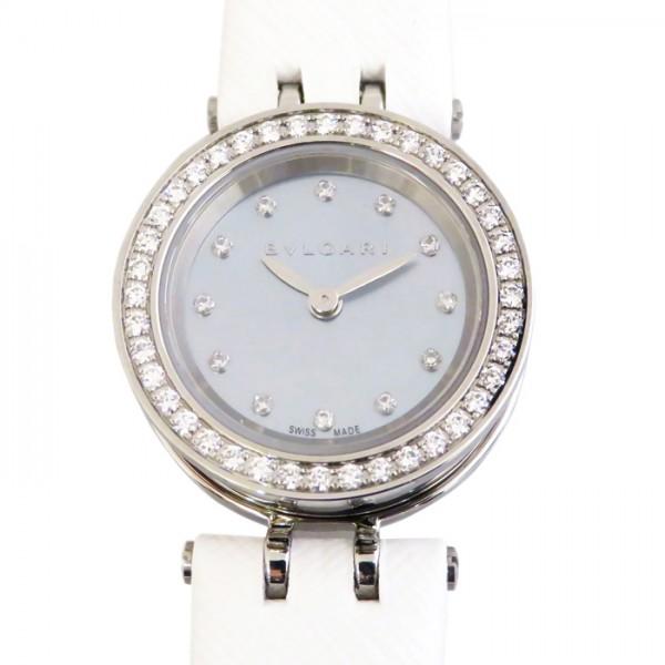 ブルガリ BVLGARI ビー・ゼロワン ダイヤ BZ23BSLD/12 ブルー文字盤 レディース 腕時計 【新品】