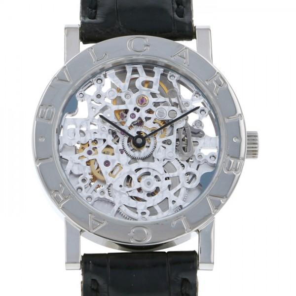 ブルガリ BVLGARI ブルガリブルガリ BBW33GLSK スケルトン文字盤 ボーイズ 腕時計 【中古】