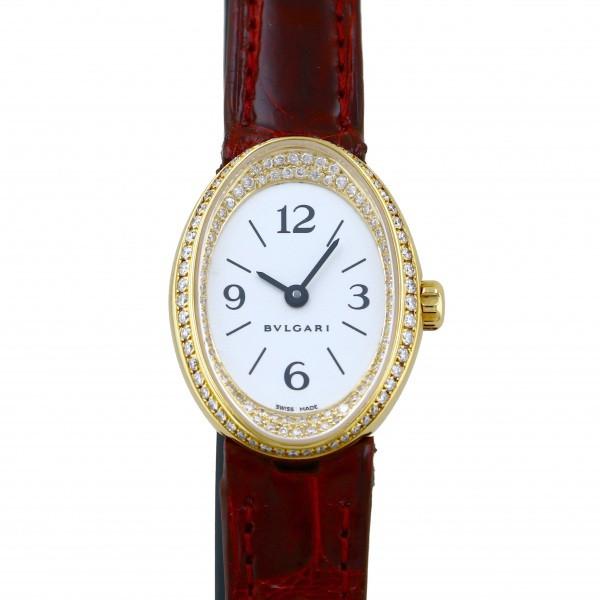 ブルガリ BVLGARI その他 オーバル ダイヤ OV24G ホワイト文字盤 レディース 腕時計 【中古】