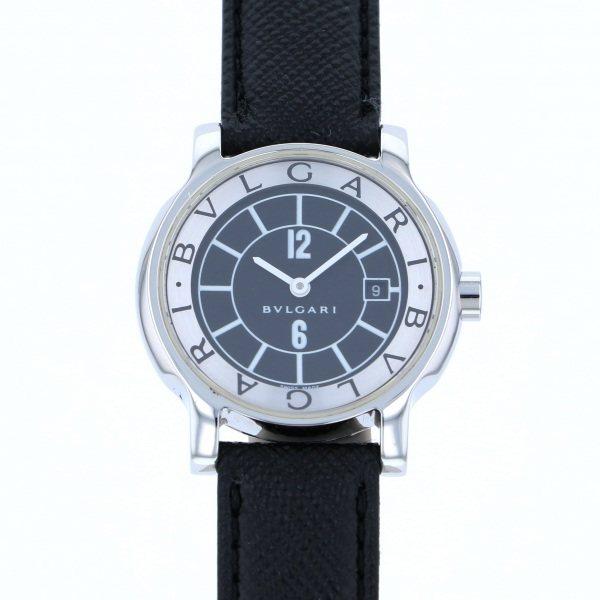 【全品 ポイント10倍 4/9~4/16】ブルガリ BVLGARI その他 ソロテンポ - ブラック文字盤 レディース 腕時計 【中古】