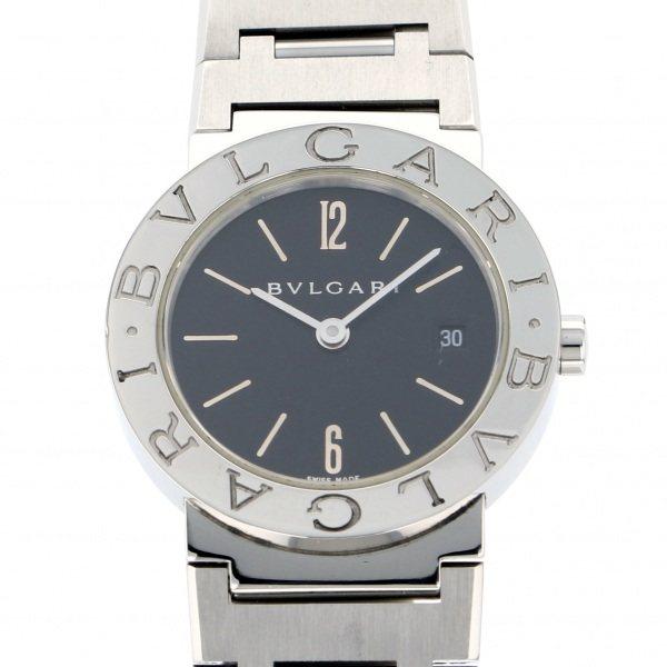 【全品 ポイント10倍 4/9~4/16】ブルガリ BVLGARI ブルガリブルガリ BB26SS ブラック文字盤 レディース 腕時計 【中古】