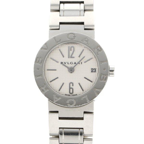 【全品 ポイント10倍 4/9~4/16】ブルガリ BVLGARI ブルガリブルガリ BB23WSS ホワイト文字盤 レディース 腕時計 【中古】