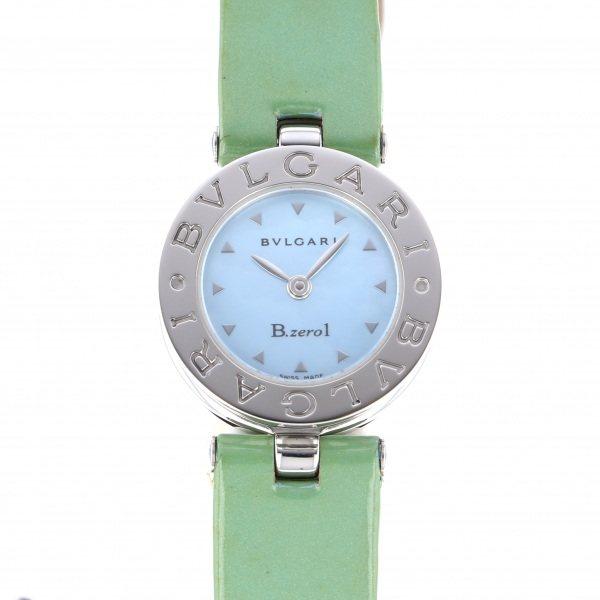 ブルガリ BVLGARI ビー・ゼロワン BZ22S ブルー文字盤 レディース 腕時計 【中古】