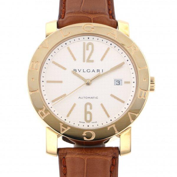 ブルガリ BVLGARI ブルガリブルガリ BB42WGLDAUTO シルバー文字盤 メンズ 腕時計 【新品】