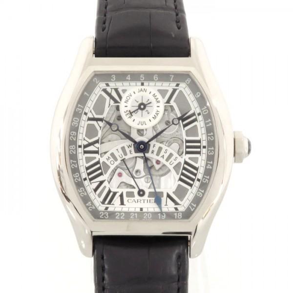 カルティエ CARTIER その他 トーチュ パーぺチュアルカレンダー W1580048 ホワイト文字盤 メンズ 腕時計 【中古】