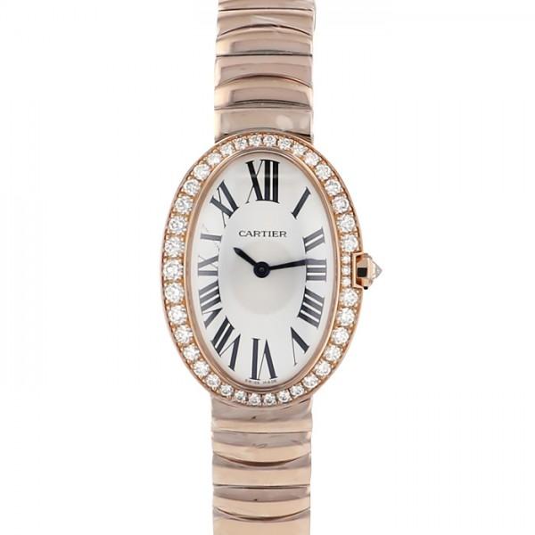 カルティエ CARTIER ベニュワール SM WB520002 ホワイト文字盤 レディース 腕時計 【新品】