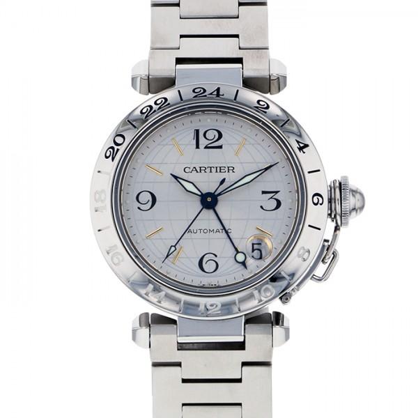 カルティエ CARTIER パシャC メリディアン シルバー文字盤 ボーイズ 腕時計 【中古】