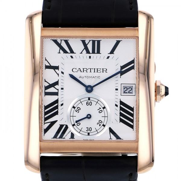 カルティエ CARTIER タンク MC W5330001 ホワイト文字盤 メンズ 腕時計 【新品】