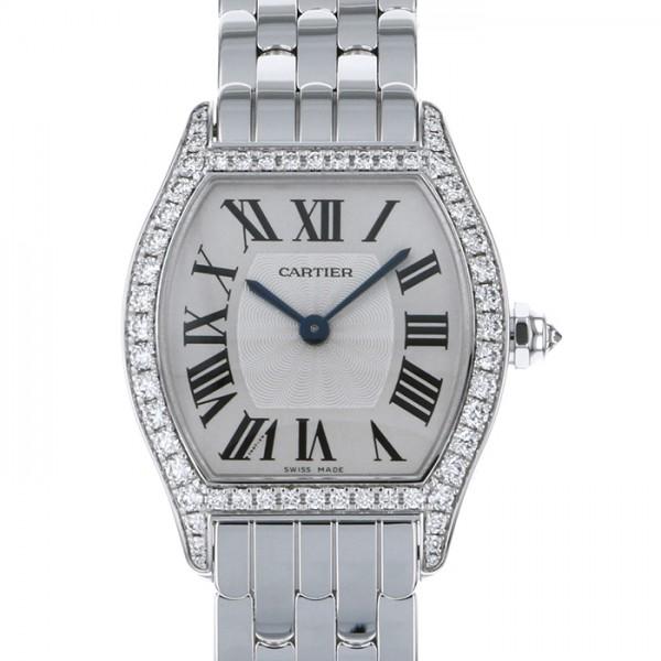 カルティエ CARTIER トーチュ SM WA501011 シルバー文字盤 レディース 腕時計 【新品】