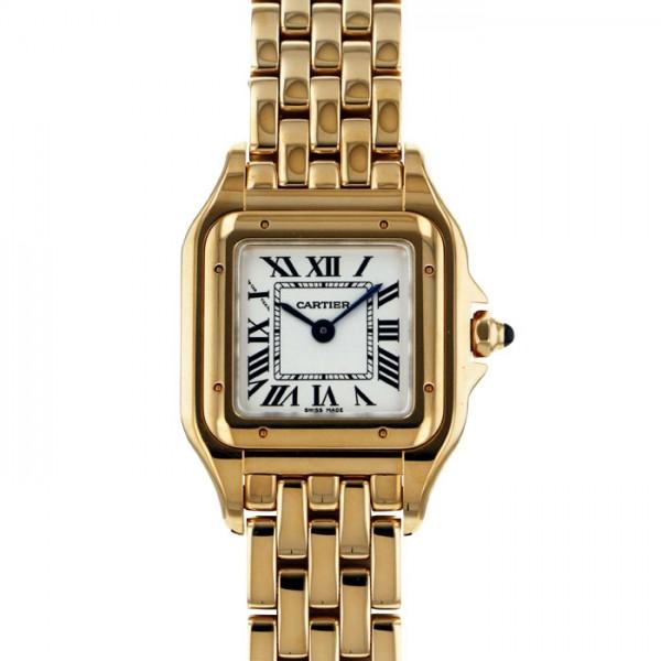 カルティエ CARTIER パンテール ドゥ カルティエ SM WGPN0008 ホワイト文字盤 レディース 腕時計 【新品】